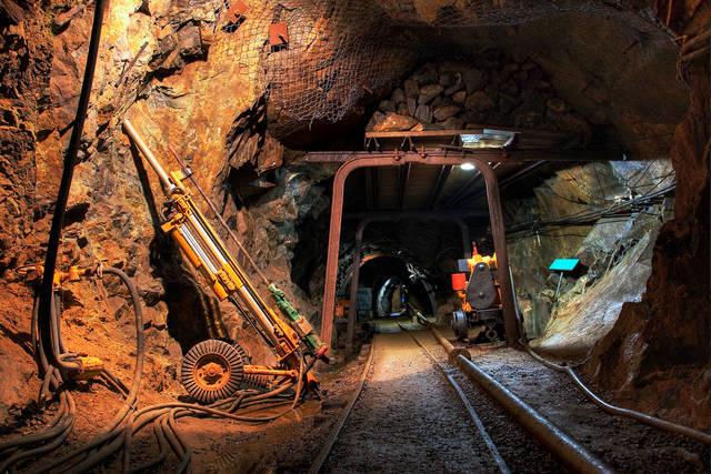 Modern mining equipment