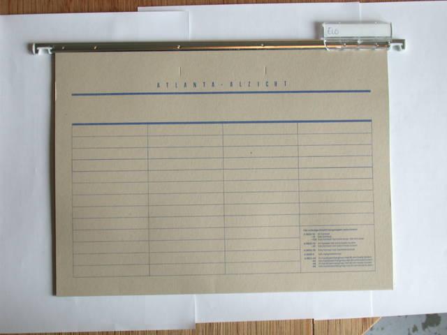 Paper folder for paper based CRM