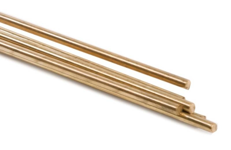 Welding rods, the basic material used to make fake gold nuggets