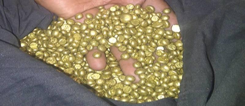 Fake gold nuggets
