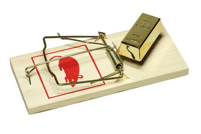 Gold trap