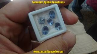 Tanzanite gemstones in Mwanza