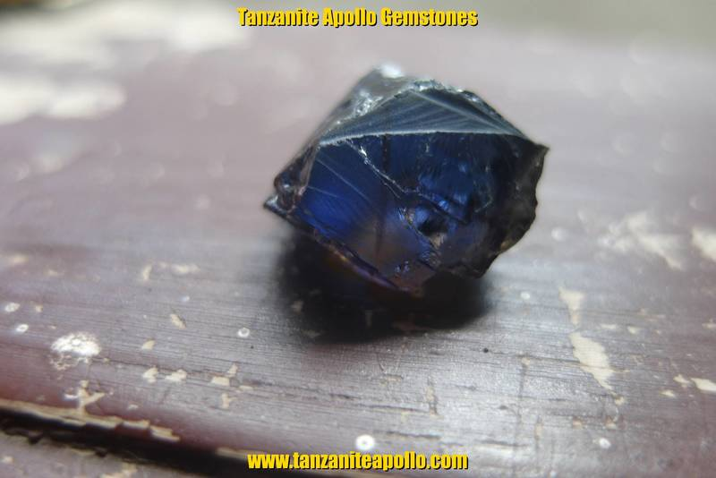 Rough Tanzanite gemstone