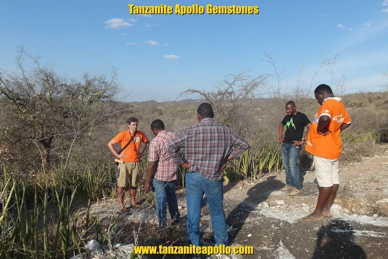Geological survey on Mirerani Hills, Mirerani, Tanzania