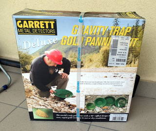 Garrett, tanjiri za ispiranje zlata