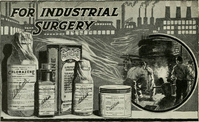 For industrial surgery