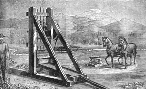 Prospecting Mill with Horse Power