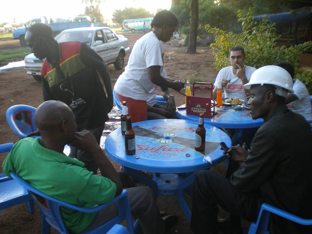 Eating in Geita
